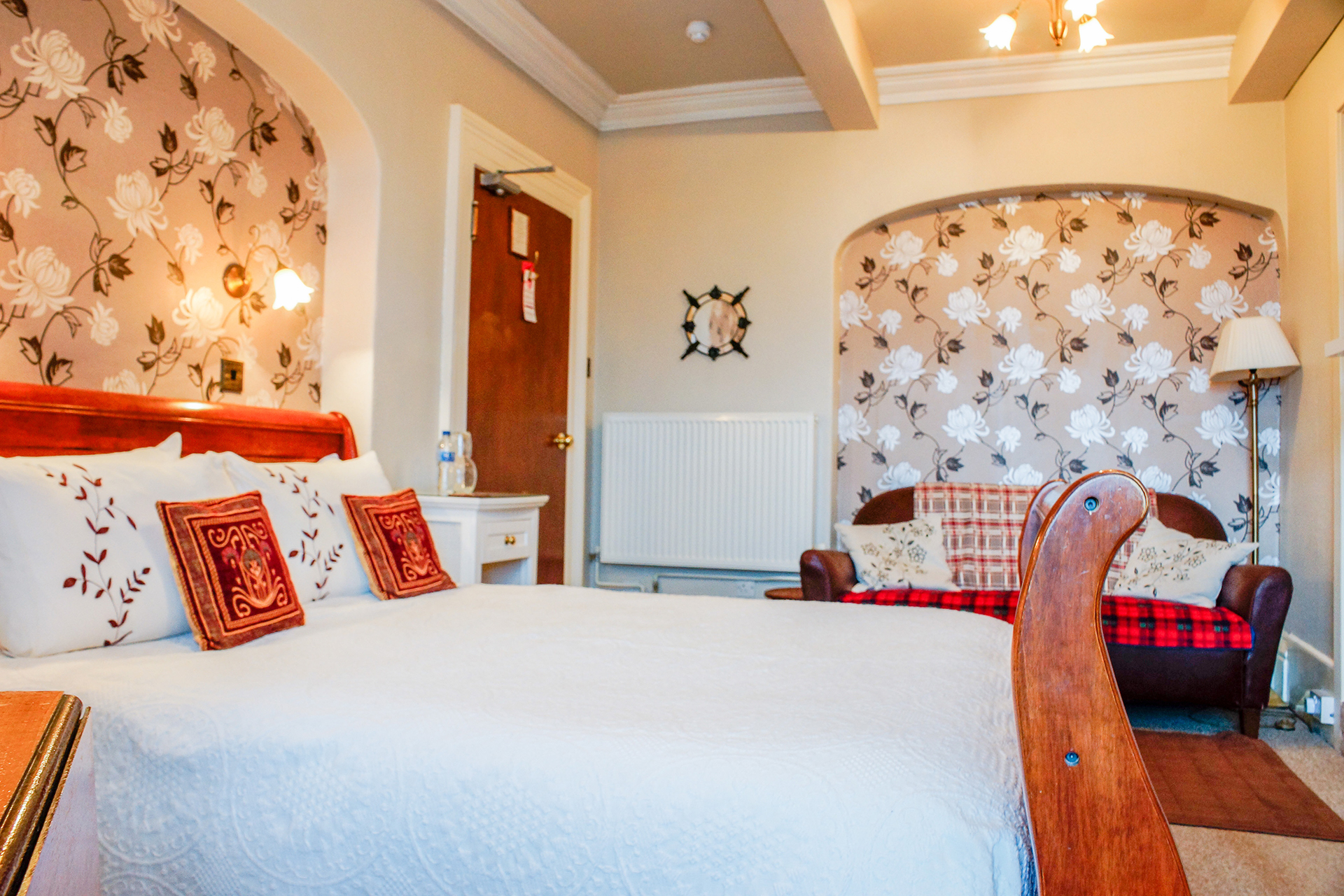 room 5 at the Castlebank hotel, Conwy, North Wales
