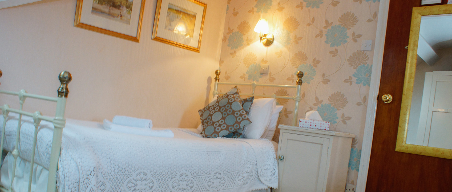 Room 8 the Castlebank Hotel, Conwy, North Wales