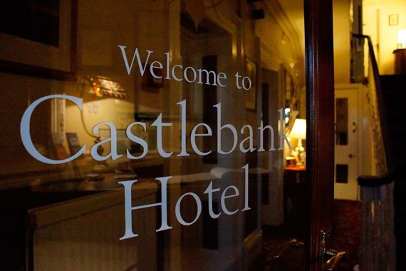 welcome to the castlebank hotel in conwy north wales